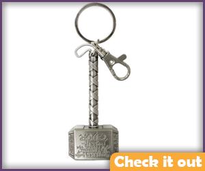 Thor's Hammer Keychain.