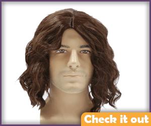Brown Wig.