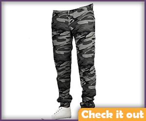 Gray Camo Pants.