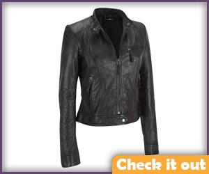 Black Short Jacket.