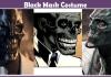 Black Mask Costume.
