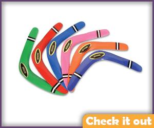 Assorted Prop  Boomerangs.