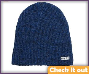 Blue Beanie Hat.