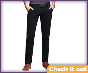 Black Tapered Pants.