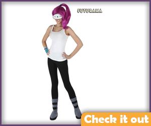 Basic Leela Costume.