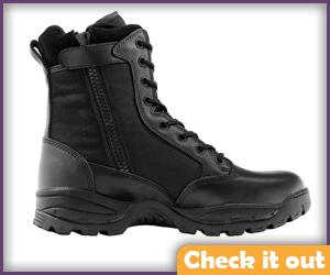 Black Tactical Boots.