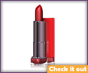 Red CoverGirl Colorlicious Lipstick.