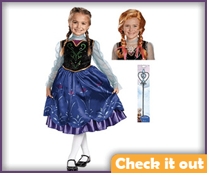 Anna Coronation Outfit Childs Size.
