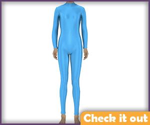 Sky Blue Bodysuit.