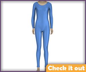 Blue Bodysuit (note Royal Blue color).