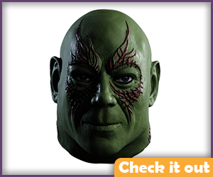Drax Costume Mask.