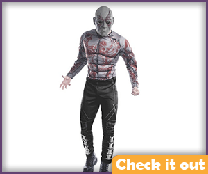 Adult Drax Costume.