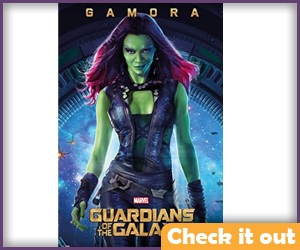 Gamora Movie Poster.