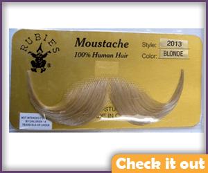 Blonde Moustache.