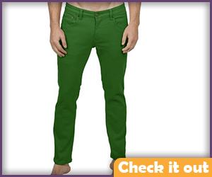 Kelly Green Jeans.