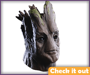 Groot Costume Adult Mask.