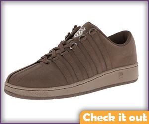 Brown Sneakers.