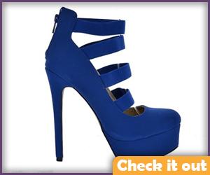 Blue Stilettos.