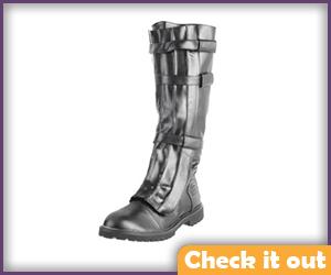 Tall Black Boots.
