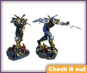 Scorpion Figure.