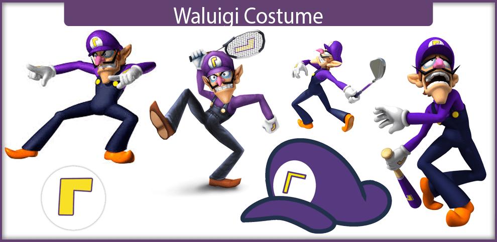 Waluigi Costume