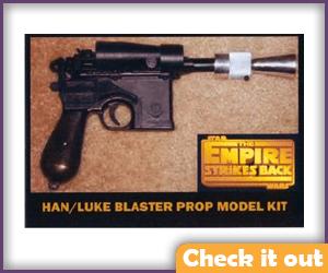 Han Solo Blaster Model Kit.