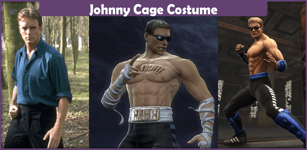 Johnny Cage Costume