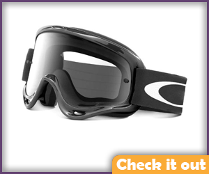Black Riding Goggles.