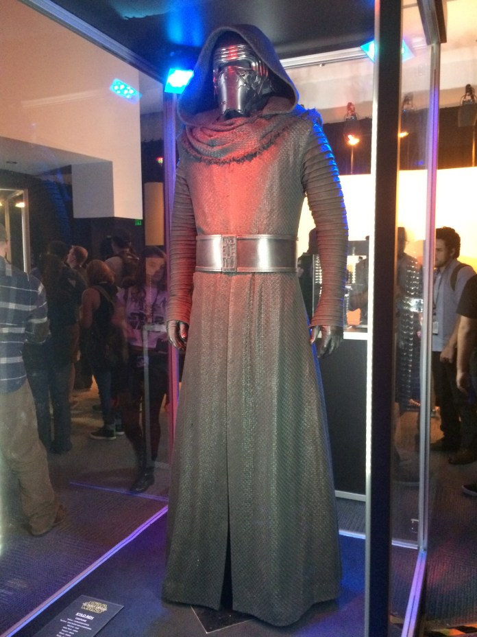 Reference Image: Kylo Ren Costume.