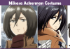 Mikasa Ackerman Costume