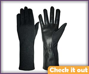 Black Pilot Gloves.