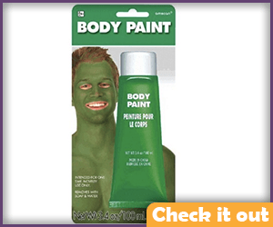 Green Body Paint.