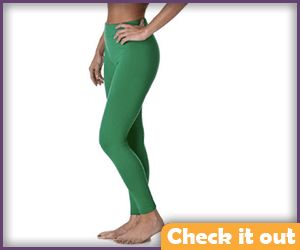 Green Leggings.