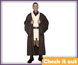 Dark Brown Robes.