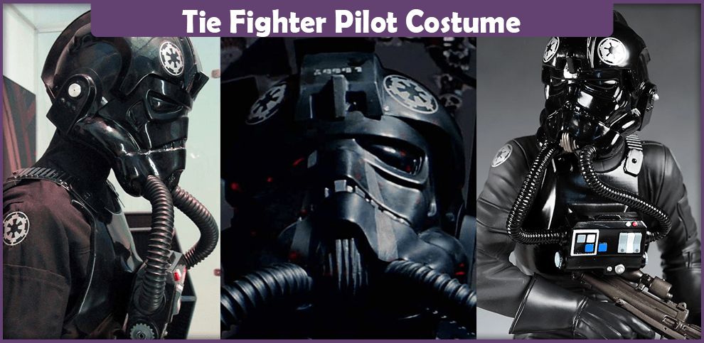 Tie Fighter Pilot Costume - A DIY Guide