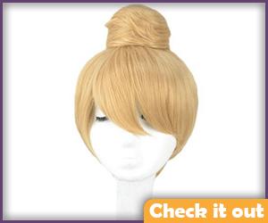 Tinker Bell Adult Blonde Wig.