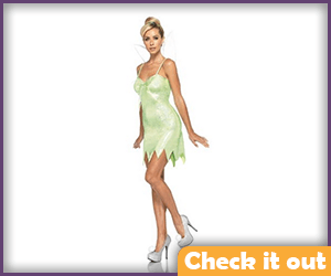 Tinker Bell Classic Costume Set.
