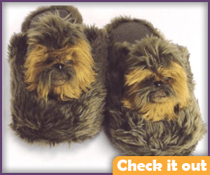 Chewbacca Slippers.