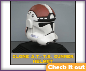 A.T.-T.E. Gunner Costume Helmet.