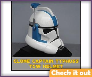 Arc Trooper Captain Typhuss Helmet.