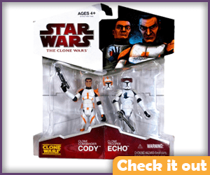 Cody and Echo Figures.