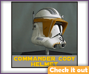 Commander Cody Helmet Prop.