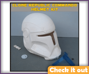 Republic Commando Costume Helmet.