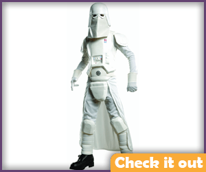 Snow Trooper Costume Set.