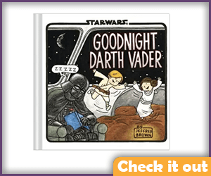Goodnight Darth Vader Book.