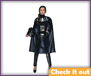 Female Darth Vader.