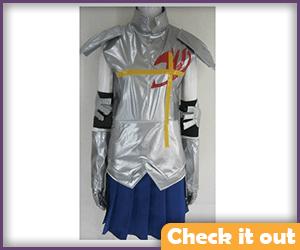 Erza Scarlet Costume Silver.