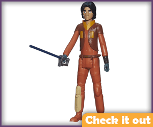 Ezra Bridger Lightsaber Figure.