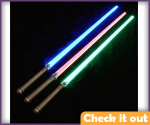 Multi-color Lightsabers Three Pack.