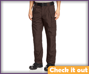 Dark Brown Tactical Pants.